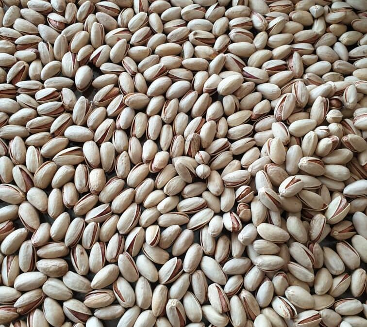 Iran pistachio export from March 2020 to January 2021from Kerman